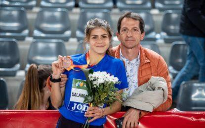 Águeda Muñoz Marqués medalla de bronce en el XXXIV Campeonato de España Sub-23 en Pista cubierta en Salamanca