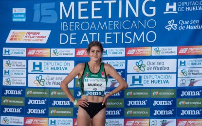La atleta Águeda Muñoz Marqués se clasifica para participar en el Campeonato Europeo Sub 23