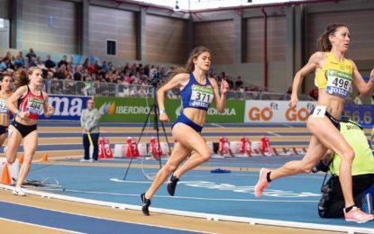Un sexto puesto de finalista para Águeda Muñoz Marqués en el Campeonato de España absoluto en pista cubierta
