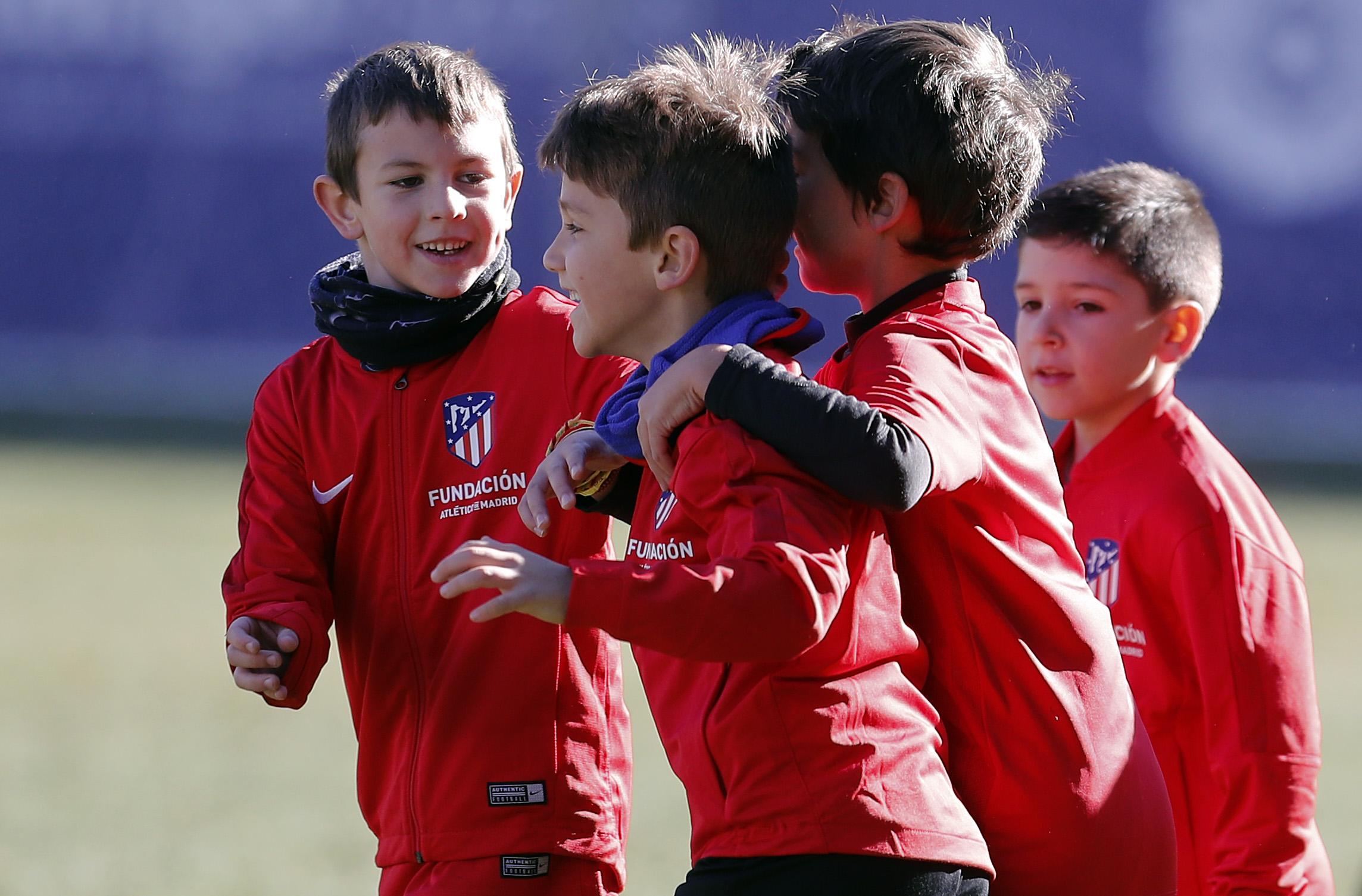 En marcha una nueva Edición de la Escuela de Tecnificación de la Fundación Atlético de Madrid en Segovia