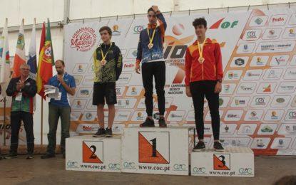 El segoviano Adrián Rubio, del equipo Maristas Segovia, obtiene la medalla de bronce en categoría cadete