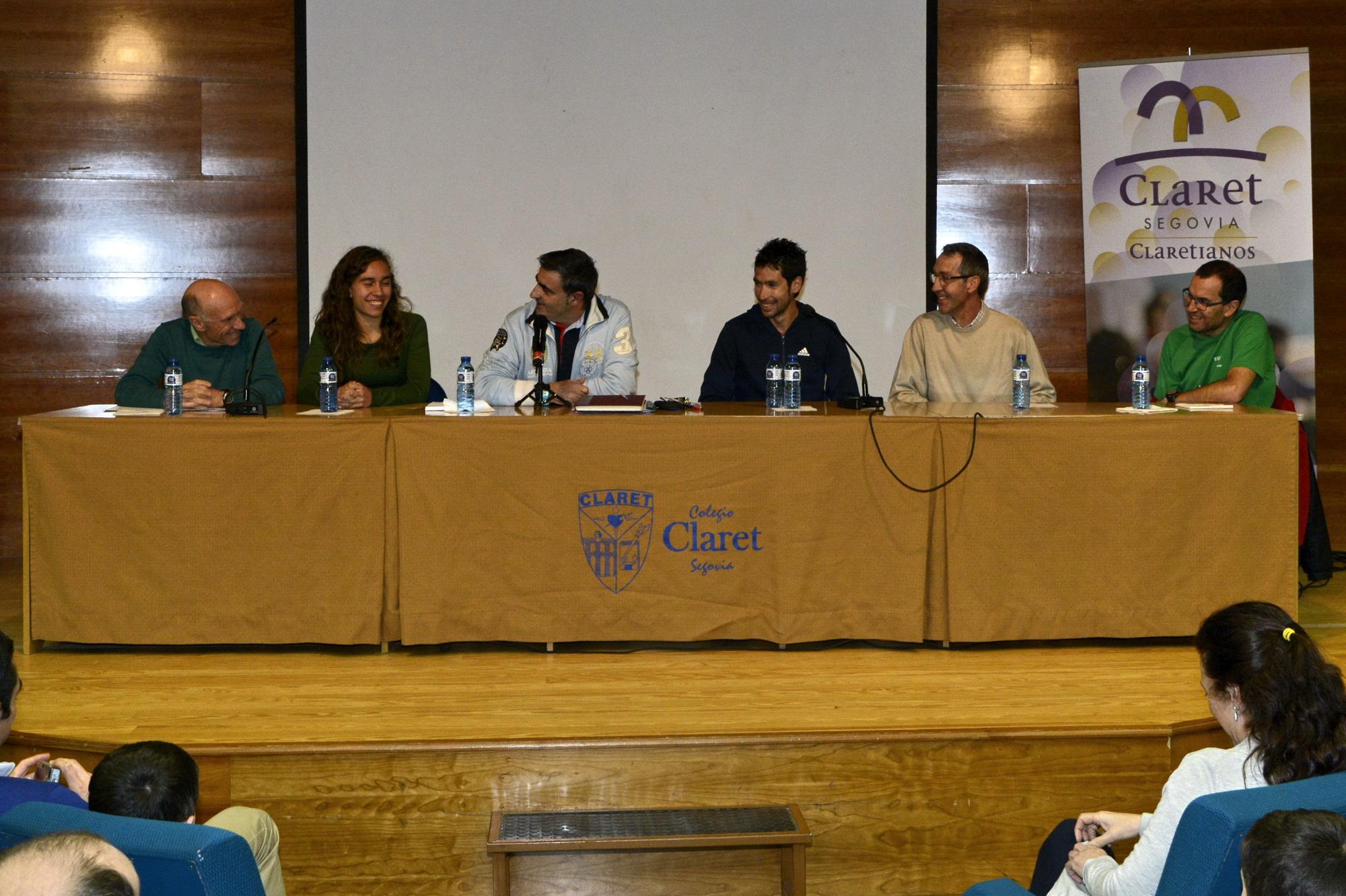 Última charla de la Semana de la Familia de Colegio Claret: Antonio e Idaira Prieto y Francisco y Javier Guerra