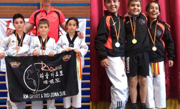 Intenso y exitoso fin de semana para el Club Taekwondo RM-Sport