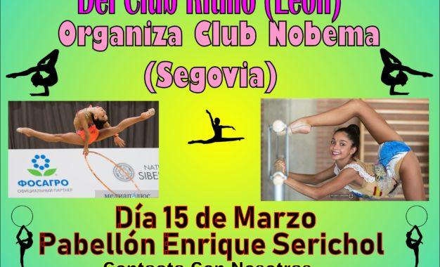 Master Class de Gimnasia Rítmica organizada por el Club Nobema