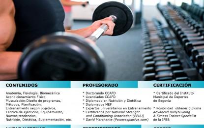 La Escuela de Formación Imd lanza una nueva Edición del Curso de Fitness y Musculación