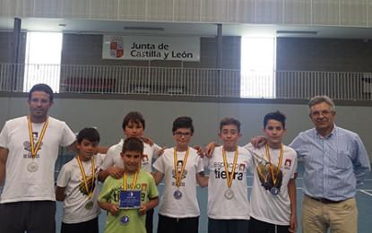 Espacio Tierra Subcampeón de Castilla y León por equipos alevín