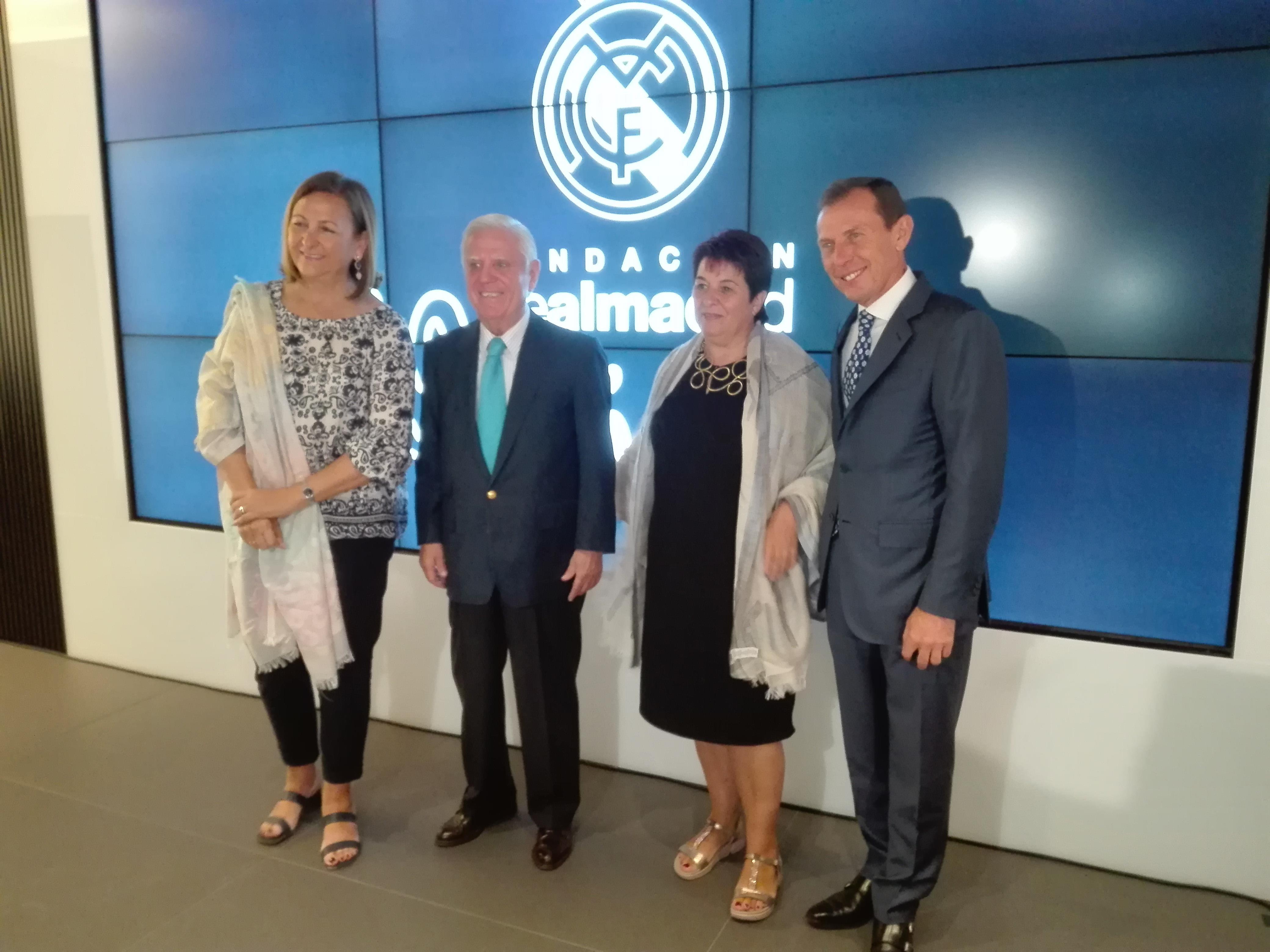 El Ayuntamiento de Segovia y la Fundación Real Madrid mantienen su cooperación para hacer posible la Escuela Sociodeportiva de Fútbol de Integración