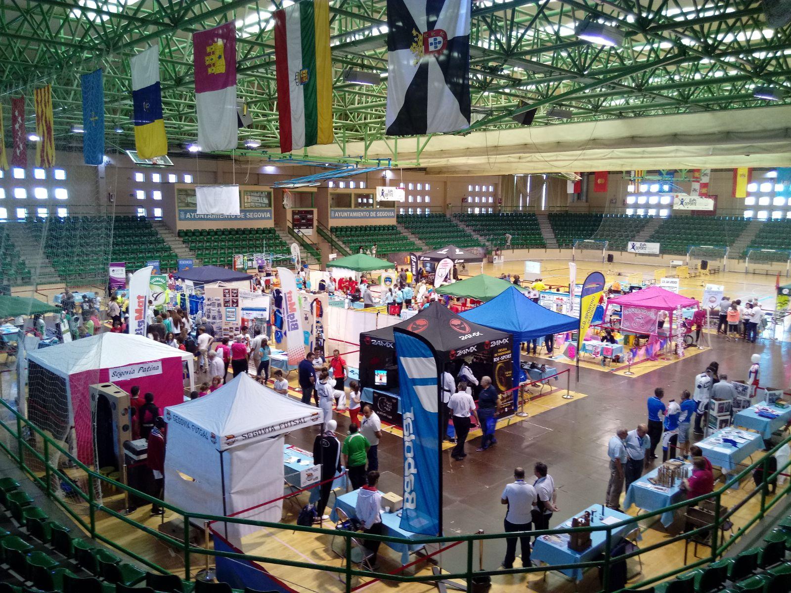 En marcha Expodeporte 2017, un espacio para la promoción del deporte segoviano