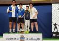 Mario Aguado Cuesta bronce en el Campeonato de España de Sable M14 2017
