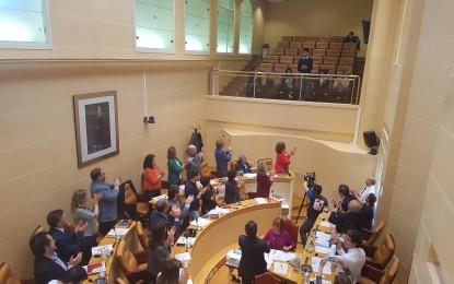 El Ayuntamiento de Segovia concede la Medalla al Mérito Deportivo al atleta segoviano Javier Guerra Polo