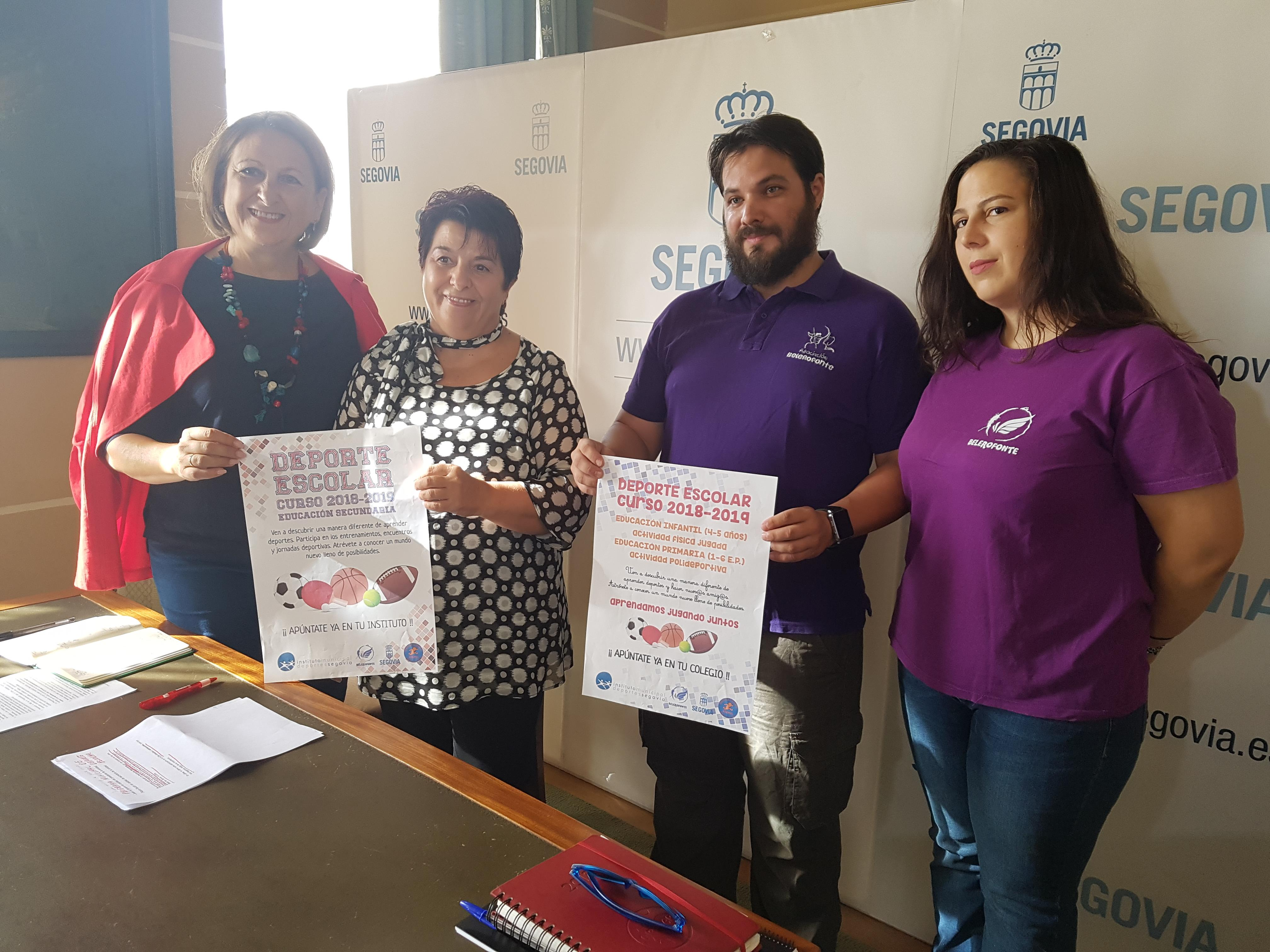 Nueva etapa para el Deporte Escolar en Segovia