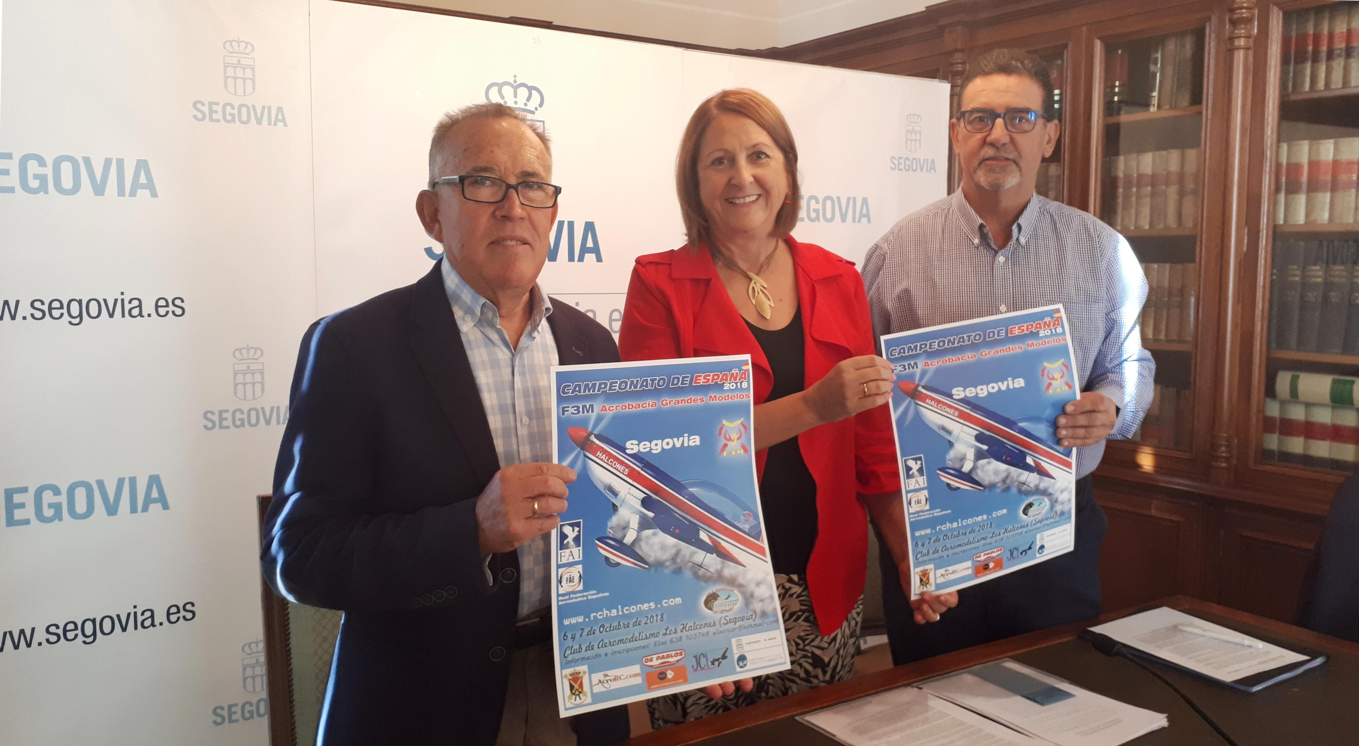 Segovia acoge el Campeonato de Aeromodelismo F3M, Grandes modelos, 2018