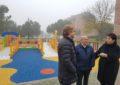 El Ayuntamiento renueva el área infantil del Parque del Reloj en Nueva Segovia