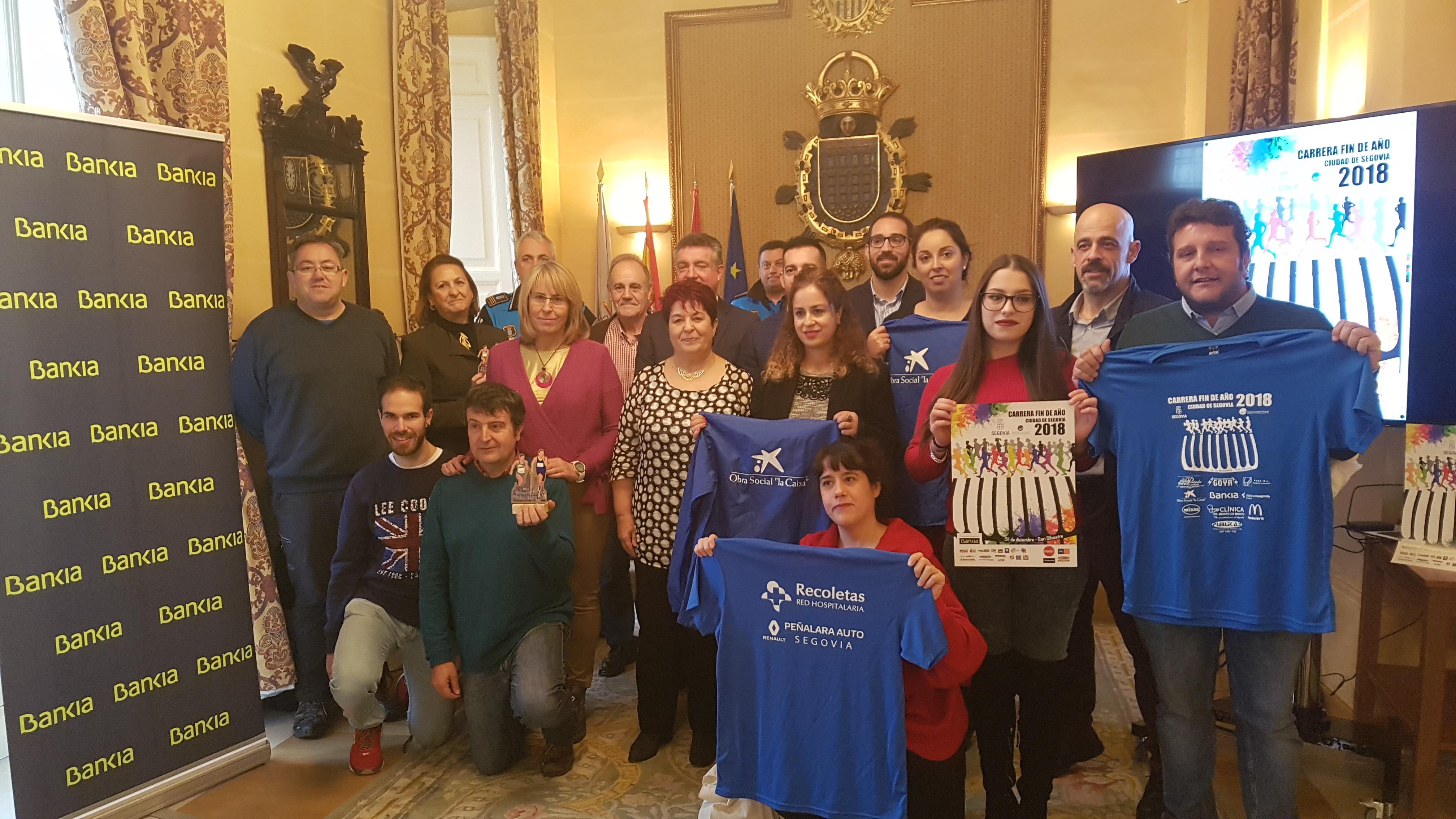 Segovia está lista para despedir el año 2018 con los segovianos haciendo deporte