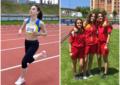 La atleta del Sporting Segovia Claudia Corral obtuvo la mínima nacional en la prueba de 1.500 metros