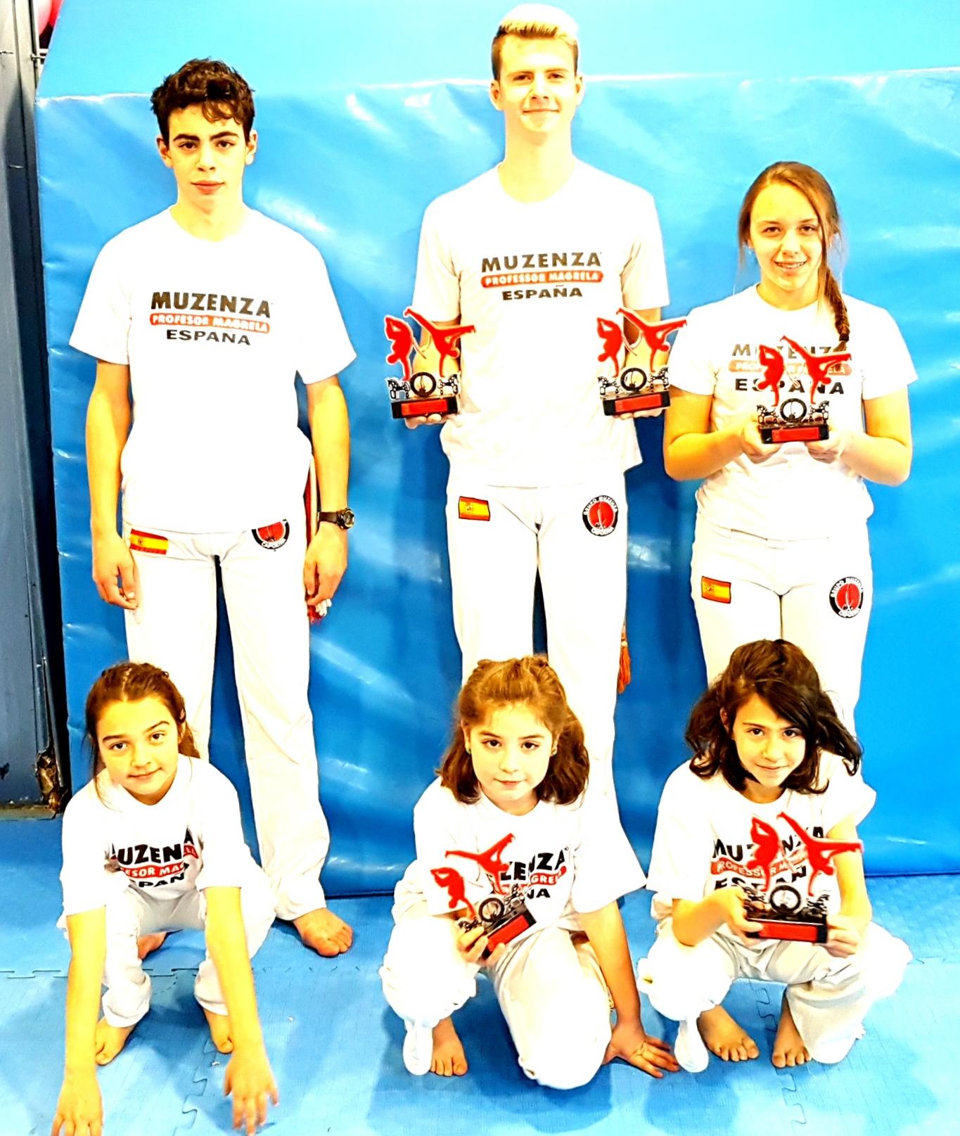 Destacada actuación de la Escuela Segoviana de Capoeira en el Campeonato Interprovincial