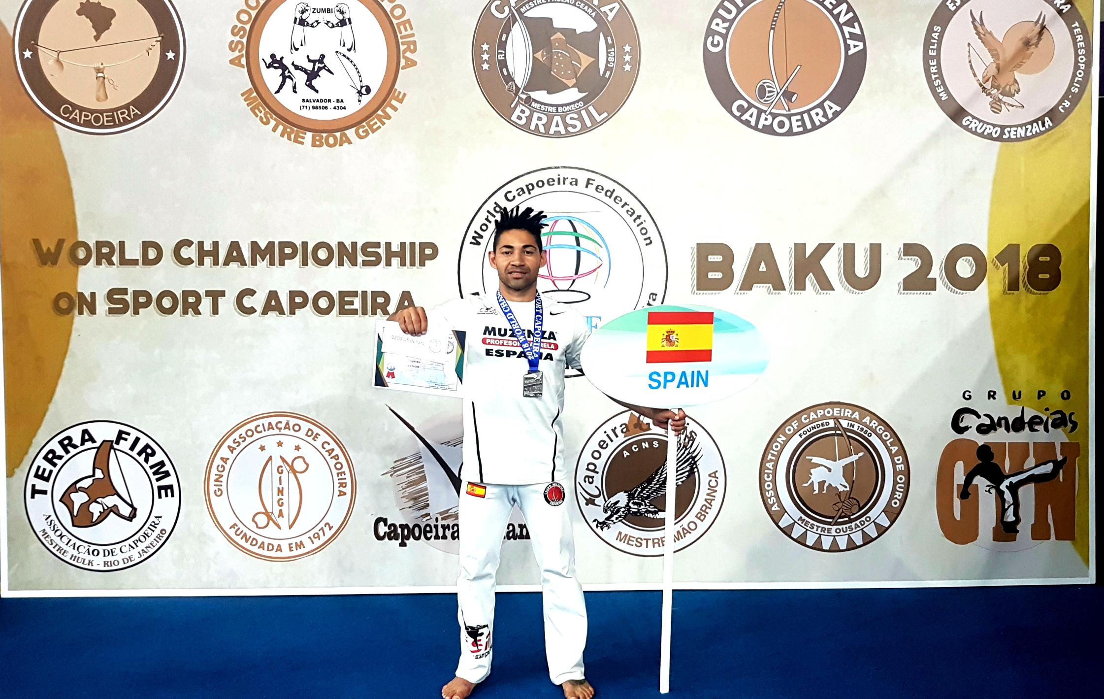 Destacada actuación del Profesor Magrela en el Mundial de Capoeira en Baku- Azerbaiyán
