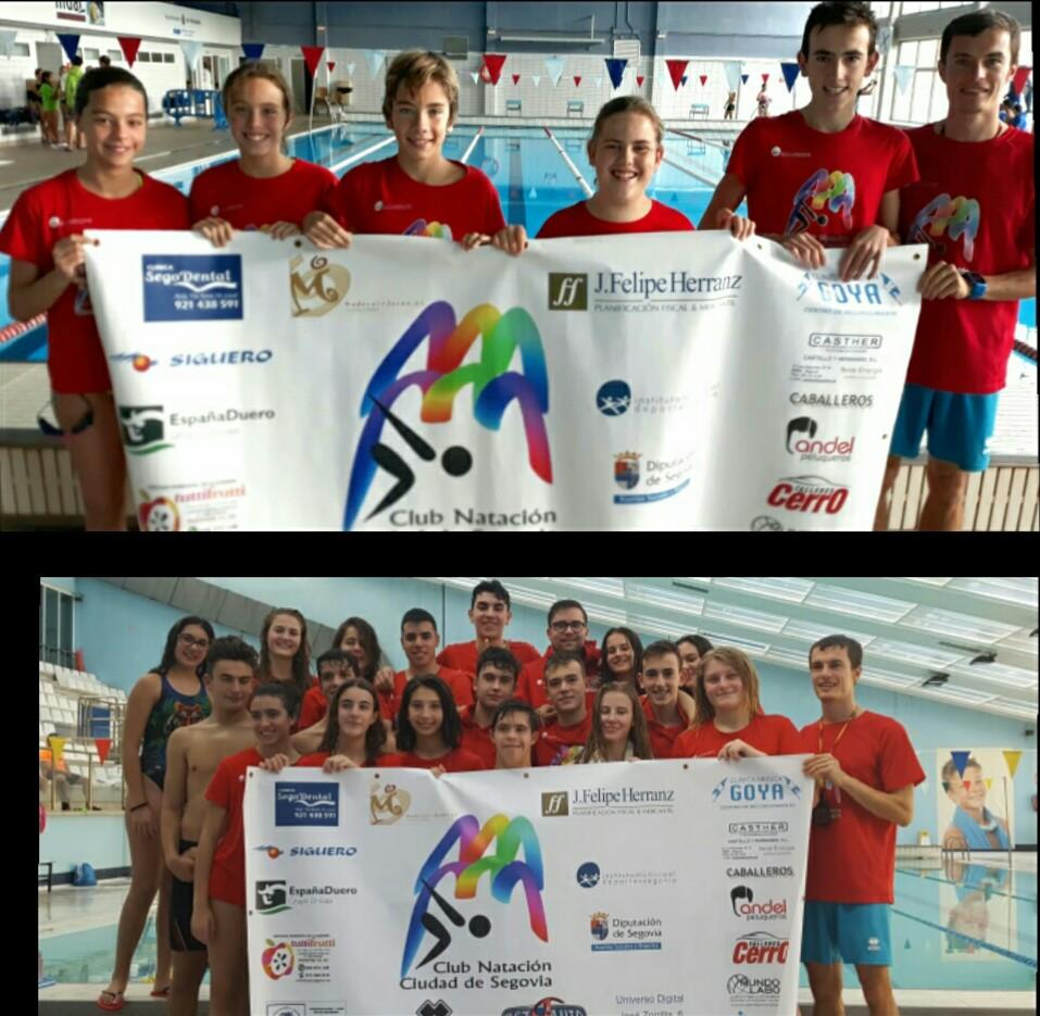 Gran comienzo del Club de Natación IMD-Ciudad de Segovia
