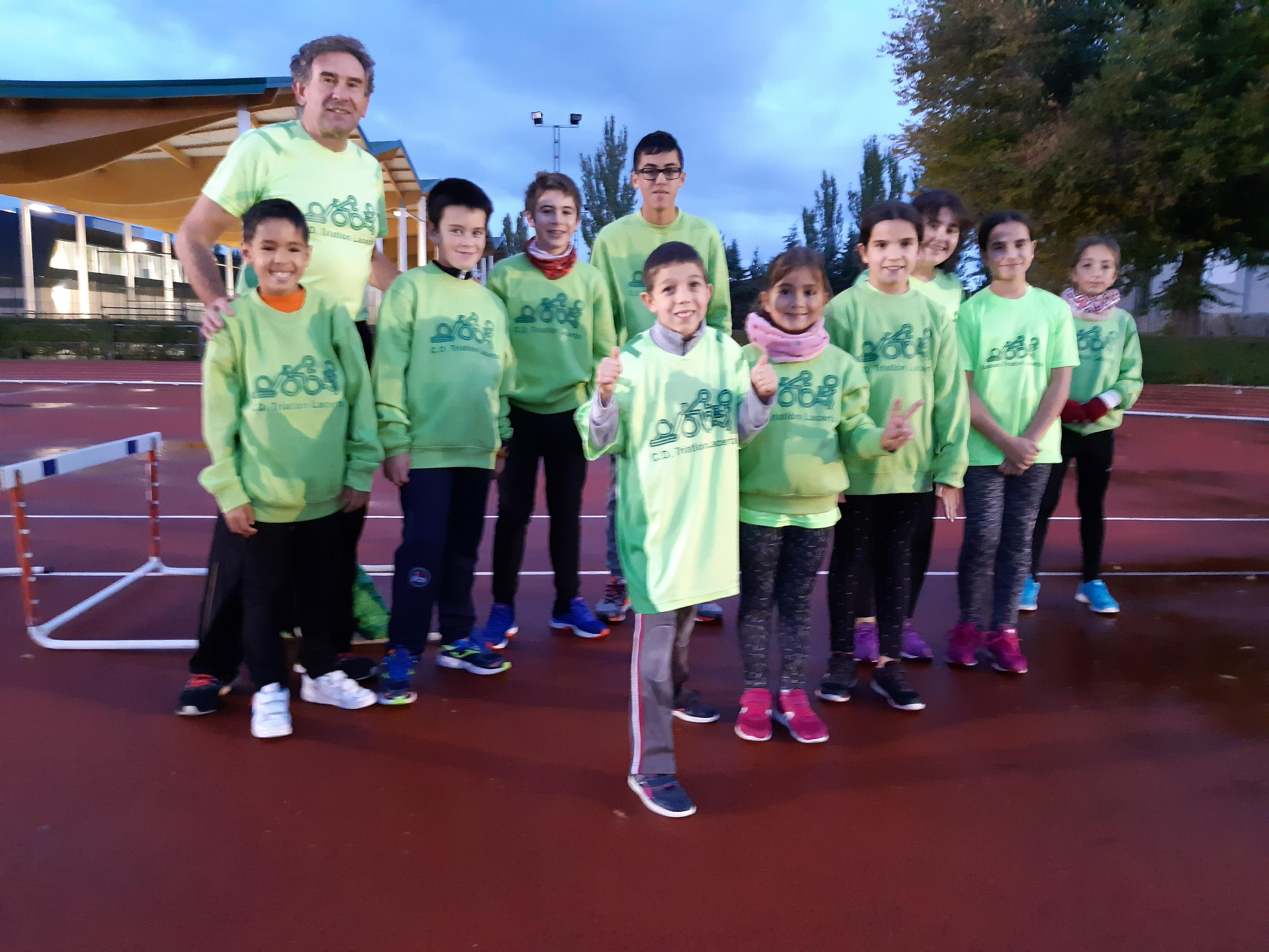 Escuela de Triatlón Lacerta: Puertas abiertas durante el mes de diciembre