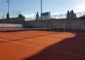 Instalaciones Deportivas: Finalizada la reposición del pavimento de la pista nº 1 de Tenis