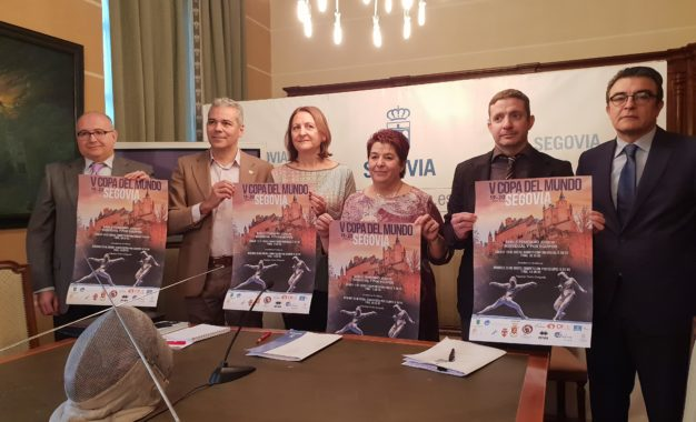 """V Copa del Mundo """"Ciudad de Segovia"""" de Sable Femenino Junior, individual y por equipos"""