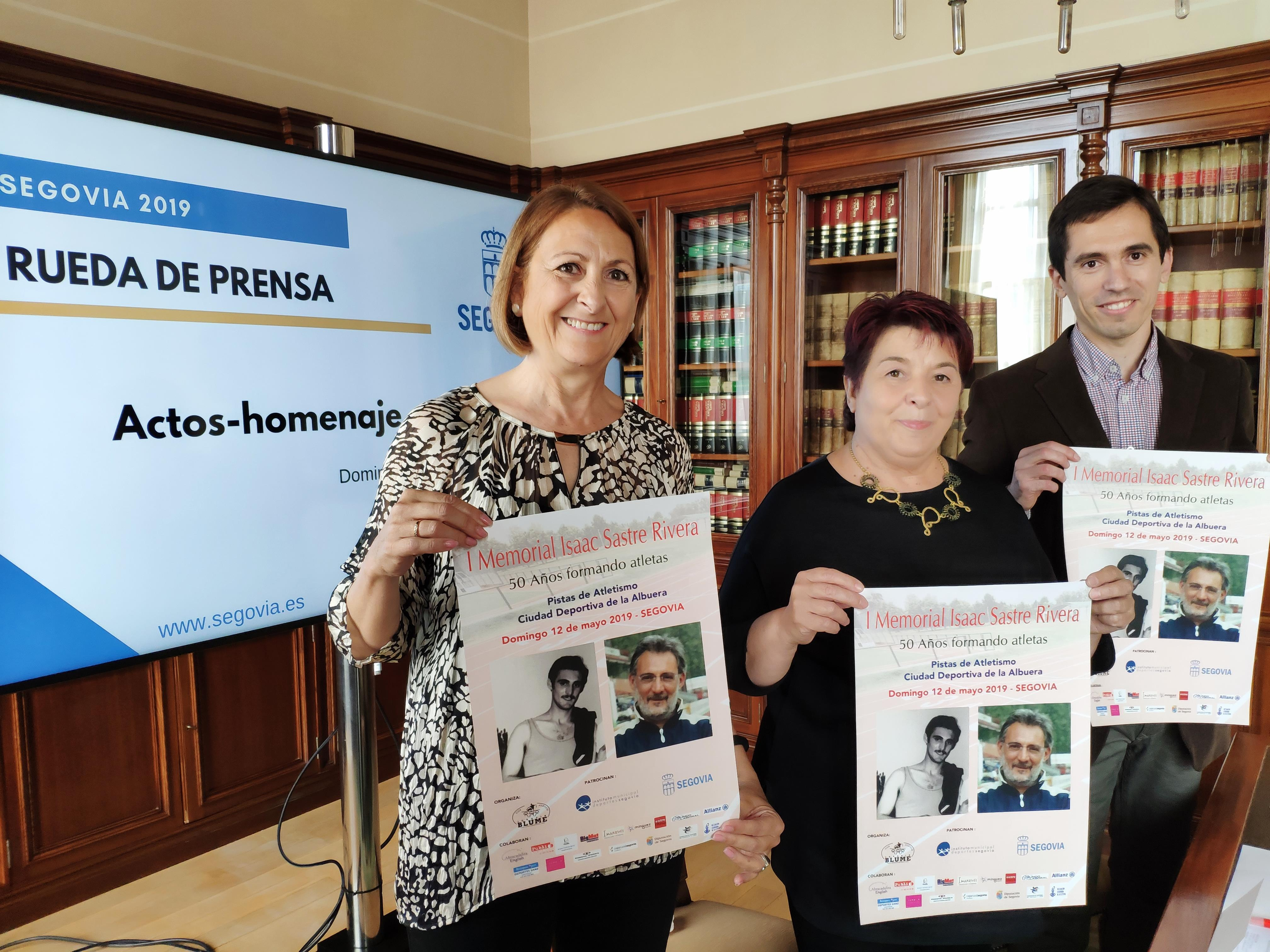"""El Club de Atletismo """"Joaquín Blume"""", con la colaboración del IMD, organiza el """"I Memorial Isaac Sastre Rivera"""""""