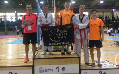 """El CD Taekwondo RM-Sport consigue siete medallas  en el VII Open """"Ciudad de Segovia"""