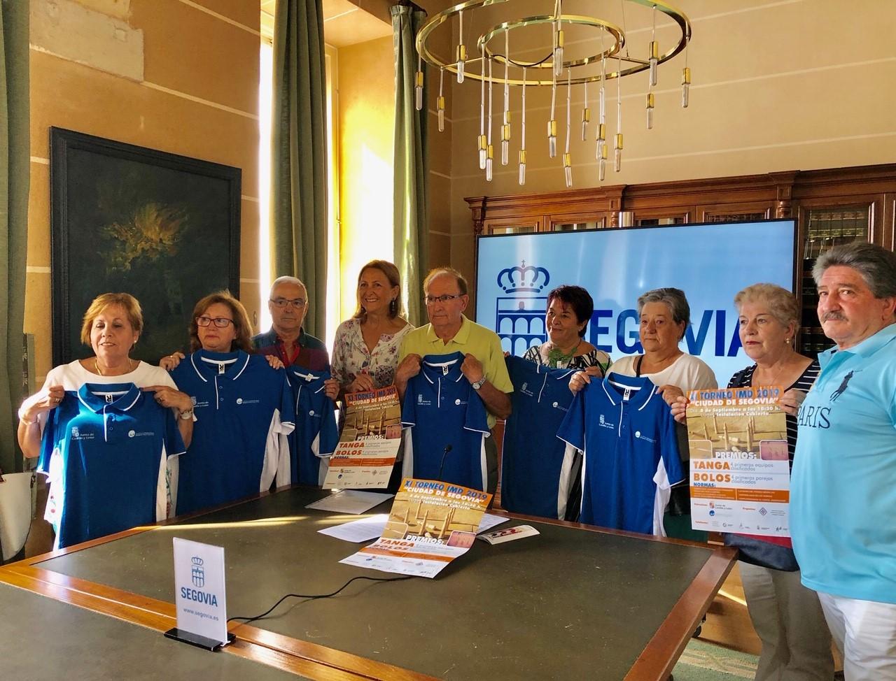 """Presentación en el Ayuntamiento del XI Torneo IMD 2019 """"Ciudad de Segovia"""" de Deportes Autóctonos"""
