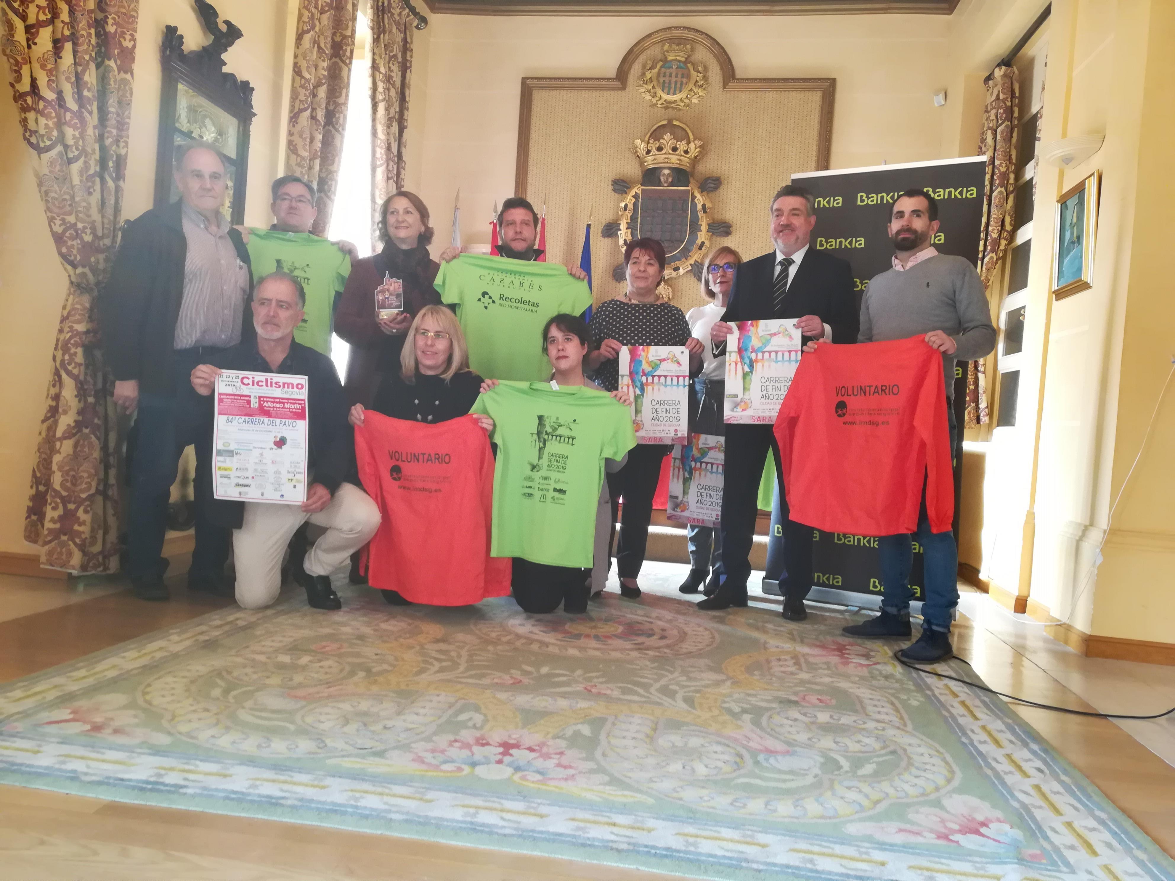 Todo preparado para la celebración de la Carrera Fin de Año Ciudad de Segovia 2019