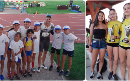 """Los Atletas de Sporting en el Gran Premio """"Ciudad de Segovia"""" y Trofeo """"Antonio Prieto"""""""