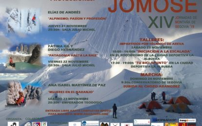 XIV JOMOSE: Jornadas de Montaña de Segovia 2019