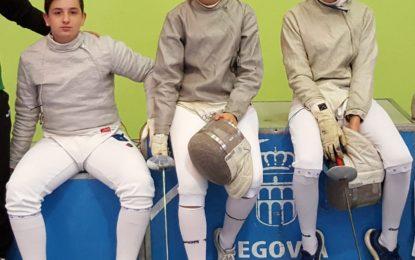 """Sofía de Lucas Maroto clasificada para la V Copa del Mundo de Sable Femenino Junior """"Ciudad de Segovia"""""""