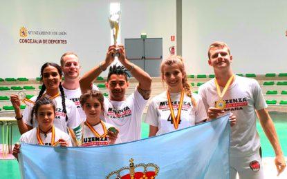El equipo de Capoeira Muzenza Segovia conquista Castilla y León