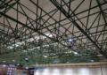 El pabellón Pedro Delgado mejora su accesibilidad y sostenibilidad energética