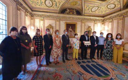 El ministro de Cultura y Deporte, José Manuel Rodríguez Uribes, visita Segovia para mantener una reunión de trabajo