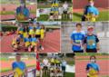 Claudia Corral y Antonio Aguilar en los Nacionales Sub-20 y medallas de plata y broce en Relevos Autonómicos Absolutos del Sporting Segovia