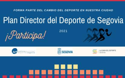El Ayuntamiento lanza una encuesta abierta a la ciudadanía para su participación en la redacción del Plan Director del Deporte de Segovia 2022-2030