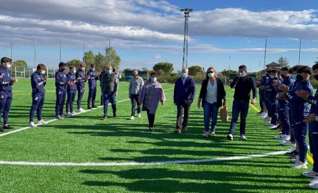 El Ayuntamiento de Segovia dedica uno de los campos de fútbol de Nueva Segovia a José Antonio Minguela