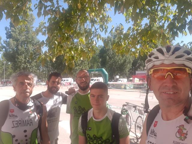 El C.D. Triatlón Lacerta logra la quinta posición por equipos en el Campeonato de Castilla y León de Triatlón Sprint