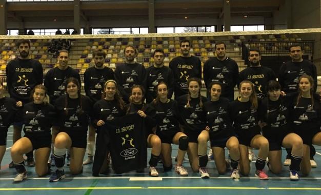 Los equipos del Club Deportivo Segovoley empiezan sus respectivas competiciones con gran ilusión