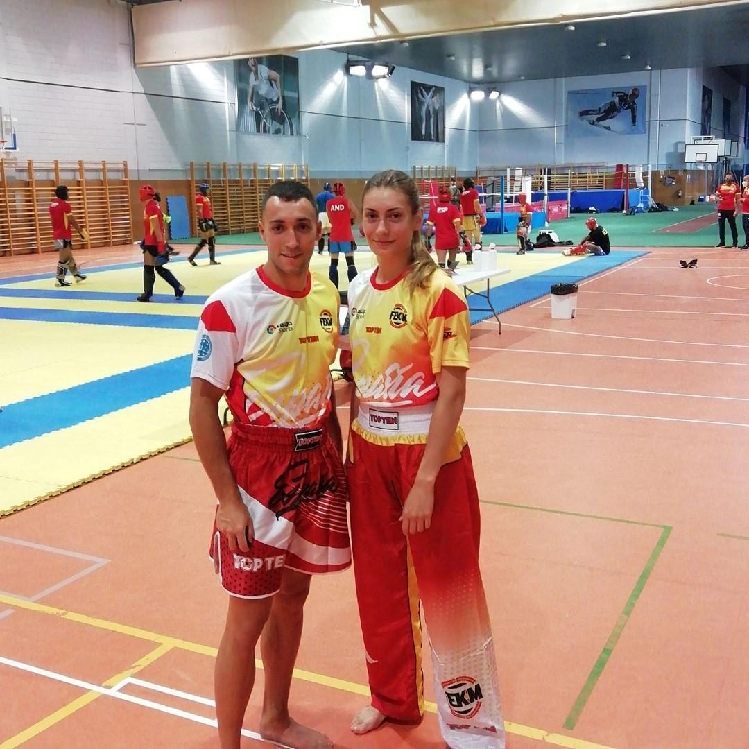 Marta González y Sergio de Diego convocados para el Campeonato del Mundo de Kickboxing