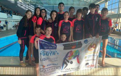 Daniela Cecilia del Club Natación-IMD Segovia obtiene 3 medallas en el V Campeonato Castilla y León Open Alevín