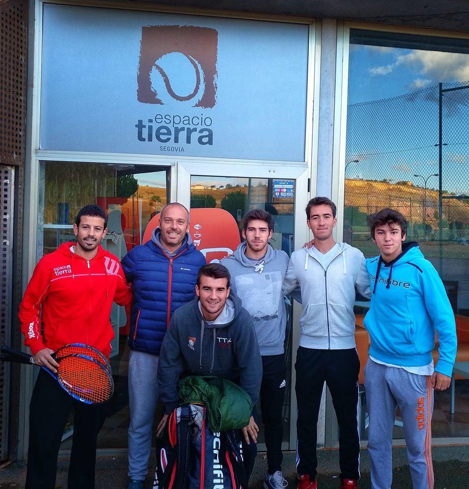 Espacio Tierra  no pudo con el Club de Tenis Pamplona en la Fase de Ascenso a Segunda División Nacional