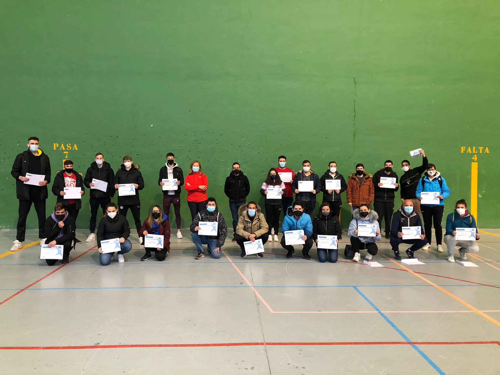 El Programa de Deporte Escolar de Segovia celebró el Curso de Formación contando con la participación de 25 monitores y monitoras