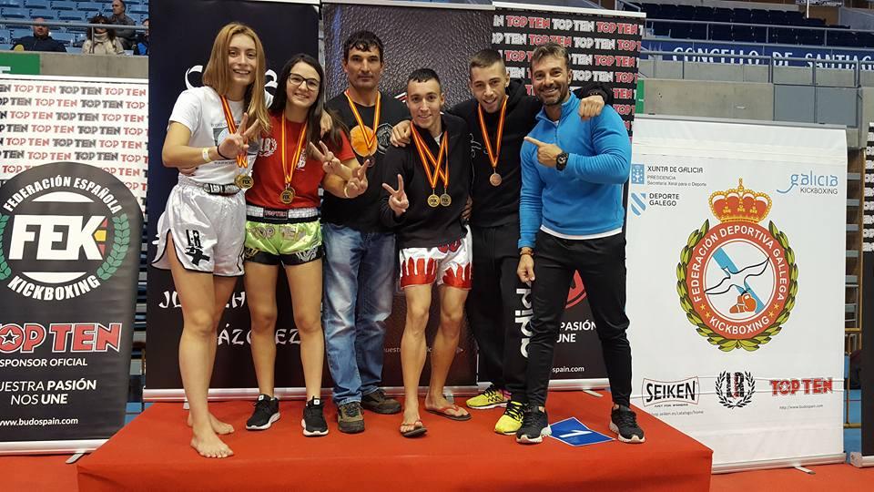 Campeonato de España  de Clubes de KickBoxing