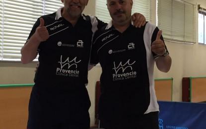 Francisco Gilarranz y Damián Sanz ultiman estos días su preparación de cara a su participación en el Campeonato del Mundo de Veteranos