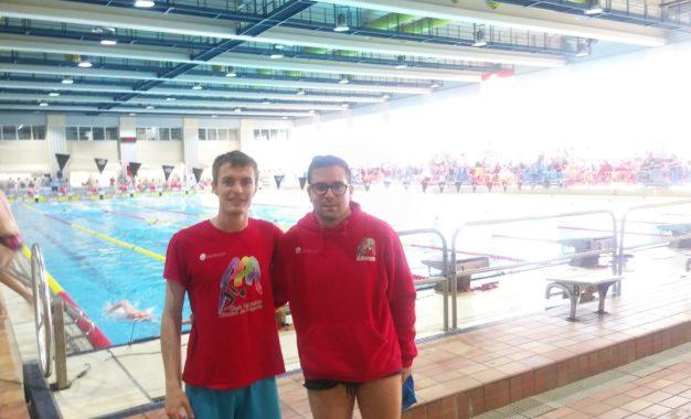 Álvaro de Frutos seleccionado por la Federación Española de Deportes para Sordos para participar en el XII Campeonato Europeo de natación adaptada