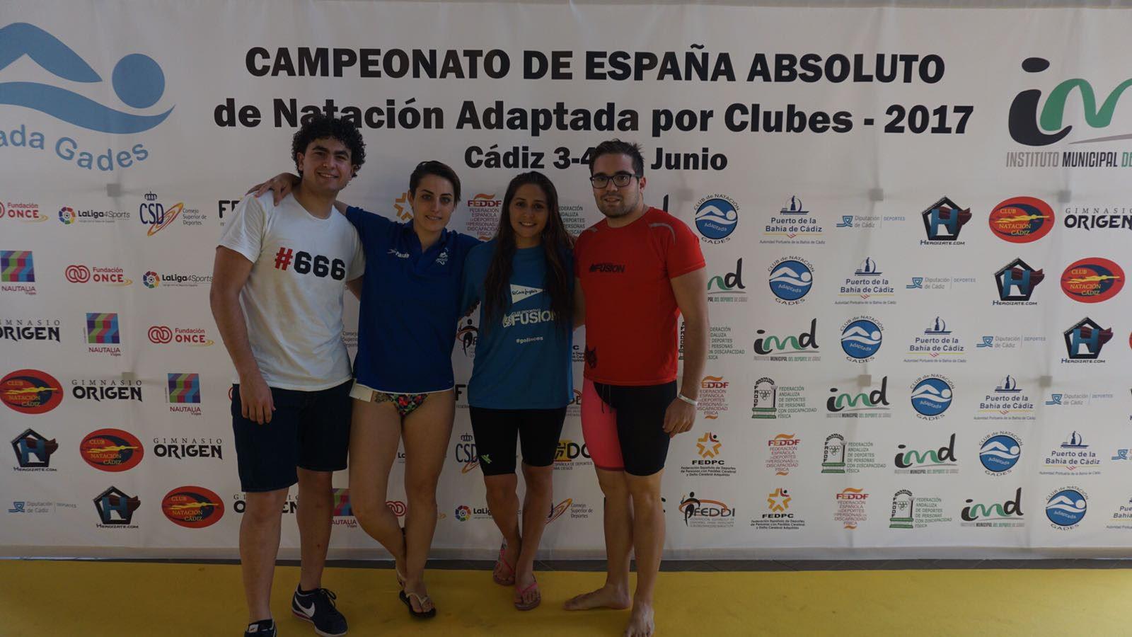 El segoviano, Álvaro de Frutos de Pablos, campeón de España en las modalidades de 50 braza, 50 mariposa, 50 y 100 libre y 200 estilos