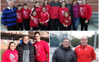 Clubes CAS Ciudad de Segovia, Venta Magullo y CETA : Crónica del Fin de Semana