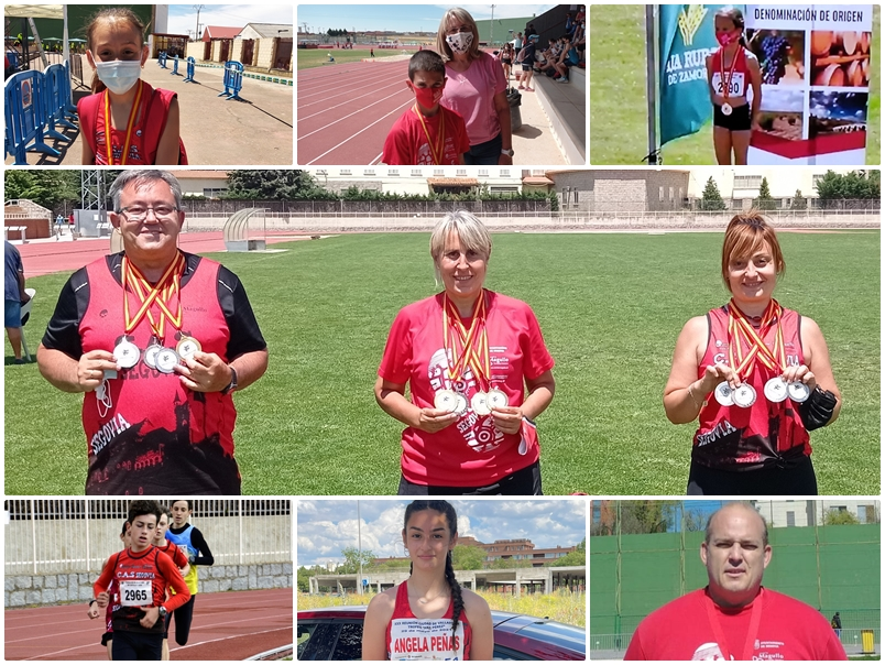 Clubes CAS Ciudad de Segovia y Venta Magullo: Crónica del Fin de Semana